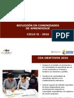 Reflexion Comunidades de Aprendizaje c2 (1)