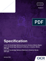 Cambridge National (Media) Specification