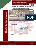 Diseño de Paradero Peatonal. Trabajo 3