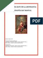 Manual Del Rayo de La Abundancia
