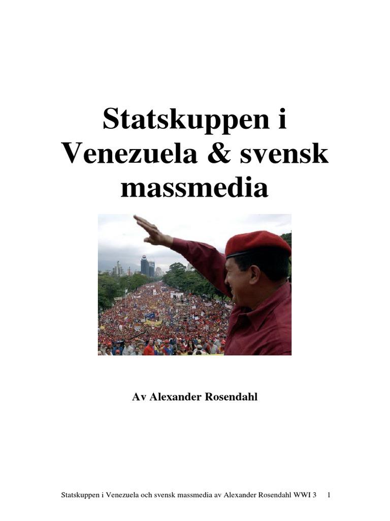 Kupprykten i venezuela infor folkomrostningen