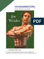 30 Principios de Entrenamiento Weider