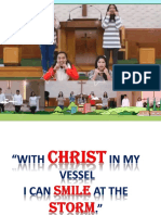 With Christ in My Vessel