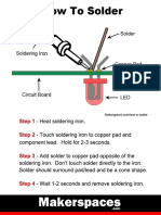 How to Solder Beginners Guide