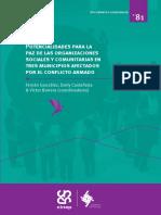 Potencialidades para la paz de las organizaciones sociales y comunitarias