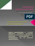 Marketing Agroalimentario