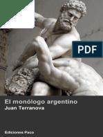 El Monólogo Argentino - Juan Terranova