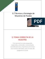 3.2 Tecnicas de Muestreo de Fluidos-PUCP
