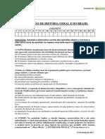 Avaliação Diagnóstica - 03.2017