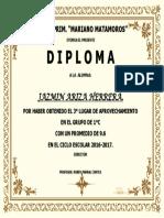 DIPLOMA 1°C