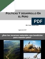 Politicas y desarrollo en el Peru -  Foro -  TALAVERA.ppt