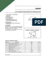 Hoja Caracteristica Trasistor 2N6059