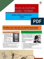 Sem 02 Origen de La Cultura Peruana - 4 Teorías