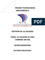 Universidad Tecnologica Indoamerica.calidad