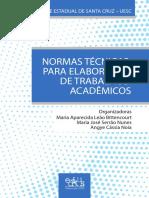 Normas Tecnicas Academicas - UESC 2016