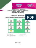 MANUAL de Gestion Autom.-inform. Contable