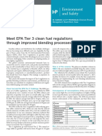 Meet EPA Tier 3 Clean Fuel Regulations Through Improved Blending Processes (HP)