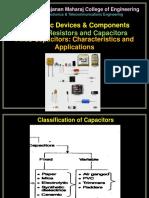 Fixed Capacitors - Characteristics and Applications