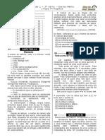 Simulado 1 - (Port. 3ª Série E.M - Blog Do Prof. Warles)