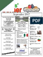 September 2017 Kids Corner