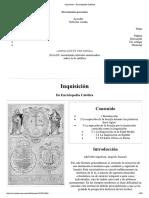 Inquisición - Enciclopedia Católica
