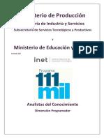 Guia Programa 111 Mil Ministerio Educacion Practica POO v1.3