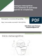 Estrategias Metacognitivas