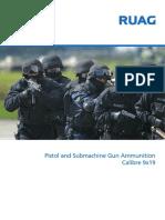Ruag Pistol and Submachine Gun Ammunition
