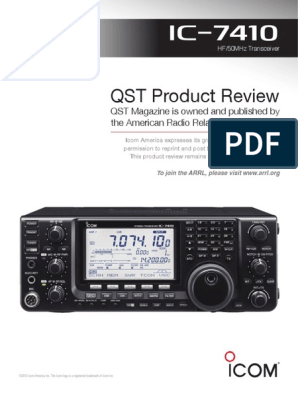 7410_QSTProductReview2012 pdf   Bandwidth (Signal Processing