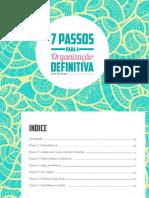 eBook - 7 Passos Para a Organização Definitiva