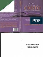 Predicar a Cristo Con Toda La Biblia-Graeme