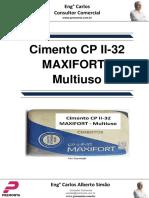 Cimento Cp II-32 Maxifort - Multiuso
