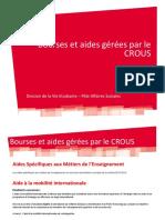 Bourses Et Aides Gerees Par Le Crous (2)