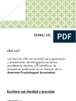Normas APA 2017