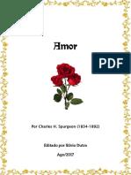 Amor, Por C. H. Spurgeon