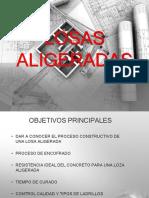 LOSAS ALIGERADAS