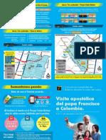 TransMilenio presentó plan de operaciones durante visita del papa a Bogotá