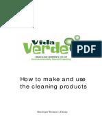 Vida Verde Manual de limpieza para elaborar quimicos