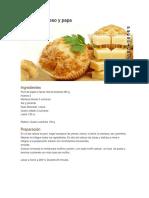 Muffins de Queso y Papa