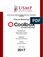 Coolbox Peru - Estrategias de Marketing