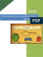 Instrumentos de medida lineal y de precisión