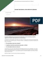 Cinco Motivos Que Tornam Fascinante a Descoberta Do Planeta Proxima b - BBC Brasil