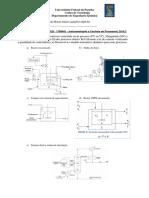 1ª Lista de Exercícios de Instrumentação e Controle de Processos_2016_2