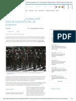 Ações Das Forças Armadas Serão Feitas de Surpresa No Rio, Diz Jungmann _ Agência Brasil - Últimas Notícias Do Brasil e Do Mundo