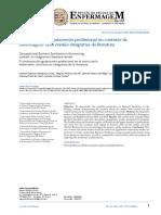 1.1 Artigo - A Síndrome Do Esgotamento Profissional No Contexto Da Enfermagem