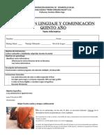 Evaluación 2 Texto Informativo