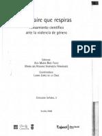 Mujeres Maltratadas y Legitima Defensa - Chiesa, Luis Ernesto