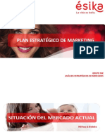 Plan de Marketing ESIKA 2014