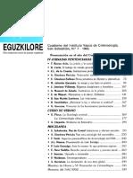 XII - La Criminología Clínica Evolución y Perspectivas - Décimo Segunda Semana