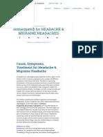 Top 9 Homeopathy for Headache & Migraine Headaches Remedies & Homeo Treatment